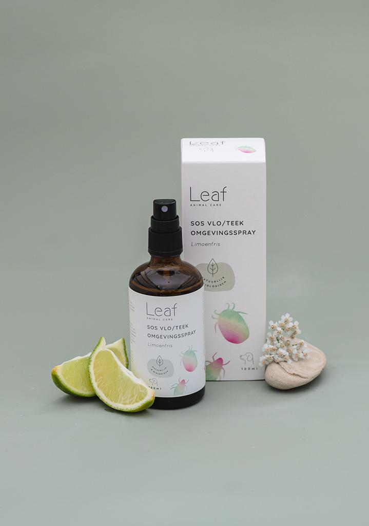 SOS vlo/teek omgevingsspray limoenfris - Leaf animal care